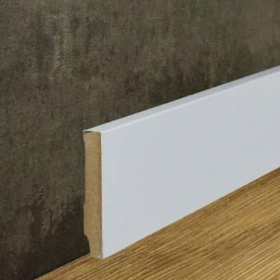 Sockelleiste MDF Folie weiß (13 x 80 mm) 721.138