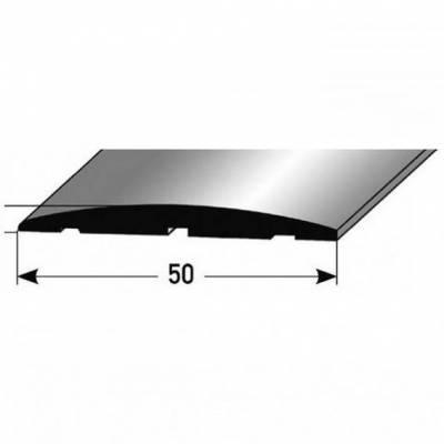 """Übergangsprofil """"Brecht"""" / Übergangsschiene / 50 mm, Typ: 145 Aluminium eloxiert / selbstklebend"""