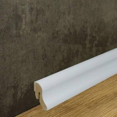 Sockelleiste MDF Folie weiß (18 x 38 mm) 738.2231