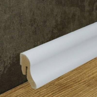 Sockelleiste MDF Folie weiß (20 x 40 mm) 722.431
