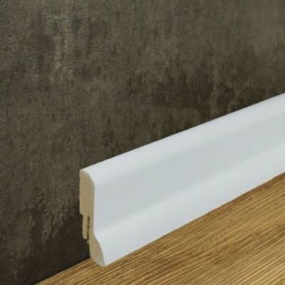 Sockelleiste MDF-Kern foliert weiß (20 x 60 mm) 722.631