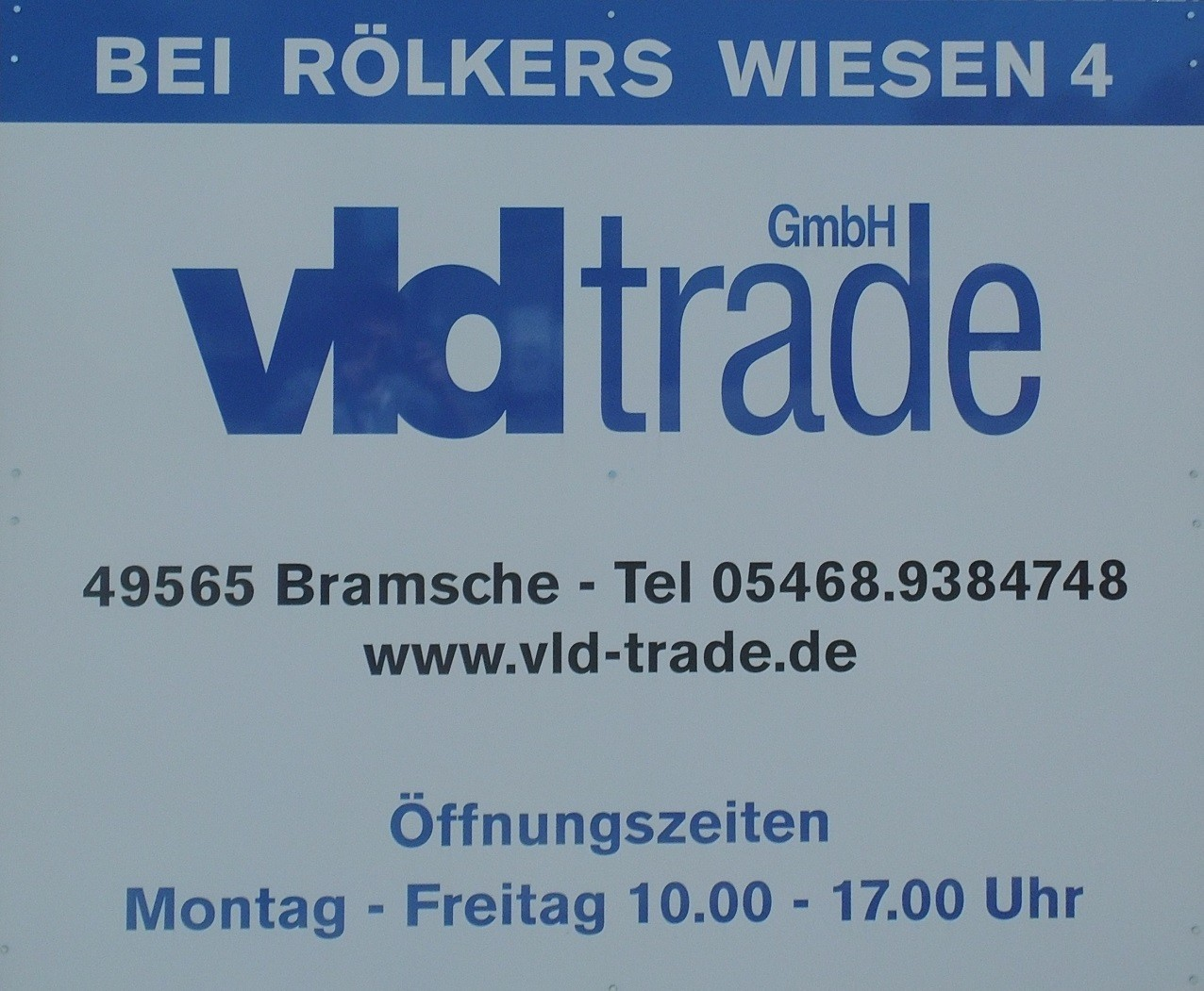Firma VLD Trade Online Händler für Stuckleisten