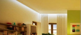 Lichtleisten für indirekte Beleuchtung